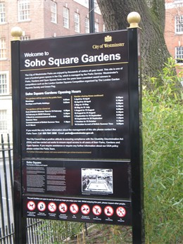 Photo: Illustrative image for the 'Soho Square' page