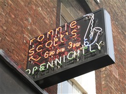 Photo: Illustrative image for the 'Ronnie Scott's Jazz Club' page