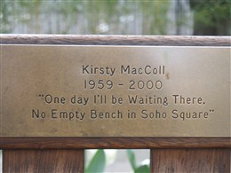 Photo: Illustrative image for the 'Kirsty MacColl' page