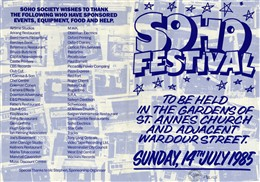 Photo: Illustrative image for the 'Soho Festival' page